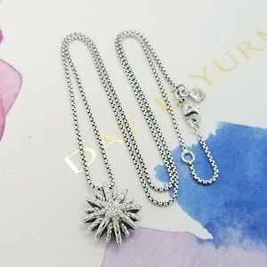 David Yurman Starburst Diamond Necklace